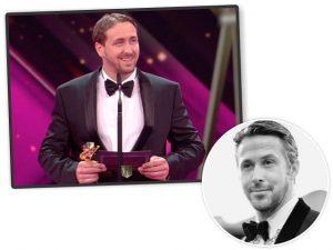 Sósia de Ryan Gosling engana alemães e recebe prêmio fingindo ser o ator