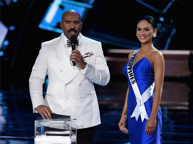 Steve Harvey e a Miss Universon 2015, Pia Wurtzbach