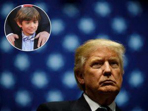 Polêmica: agentes do Serviço Secreto publicam foto com neto de Trump!