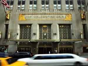 Um dos hotéis mais famosos de Nova York, Waldorf Astoria fecha as portas