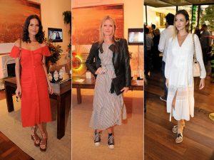 Comprimento midi é a aposta das bem vestidas da semana no eixo Rio-SP