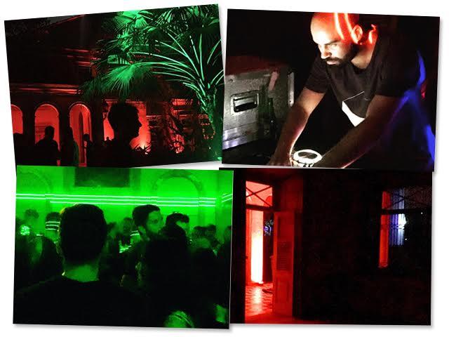 Cliques do aniversário artsy de Candé Salles no Solar dos Abacaxis, no RJ. Detalhes dos ambientes, da pista e de João Penoni no som || Créditos: Reprodução / Instagram