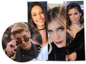Justin Bieber: até Anitta estava no páreo da noite, mas…