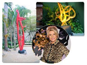 Casa Glamurama ganhou clima artsy com esculturas de Bia Doria