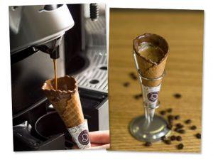No dia do café, que tal tomar a bebida na casquinha? Vem saber