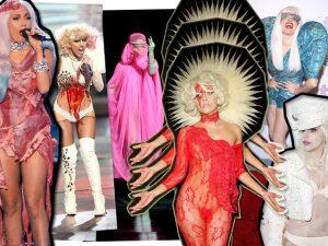 Os 21 looks mais malucões de Lady Gaga no dia de seu aniversário