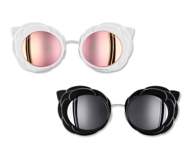 7821c4a6850bc Desejo do Dia  o clássico e o contemporâneo nos óculos Camellia da Chanel.  Compartilhe  cine oculos