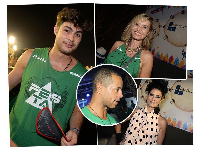 Rafael Vitti, Paula Burlamaqui, Jonathan Haagensen e Fernanda Abreu: sexy e hot! || Créditos: Juliana Rezende e Bruna Guerra