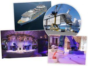 Maior navio de cruzeiro do mundo será lançado ao mar em abril de 2018