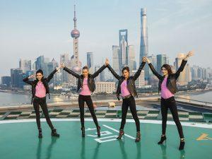 Alessandra Ambrosio e turma de Angels saem em turnê pela China. Aos cliques!