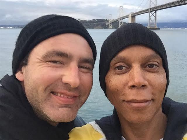 Georges LeBar e RuPaul Charles: casados!  ||  Créditos: Reprodução / Instagram