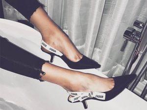 Desejo do Dia: Maria Grazia Chiuri e seu sapato hit da Dior. Ai que luxo!