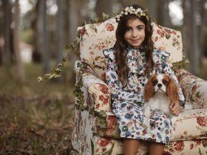 Depois de desfilar em Milão, Maria Clara Jereissati estrela campanha da Mixed Kids