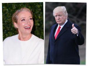 Emma Thompson revela que Donald Trump a convidou para sair. A resposta?