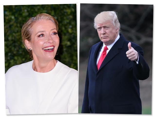 Emma Thompson e Donald Trump || Créditos: Getty Images