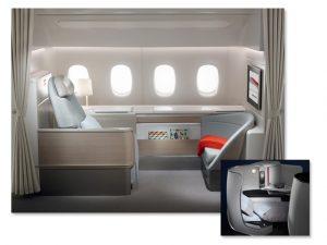 Vida de palácio: como é voar nas classes La Première e Business, da Air France