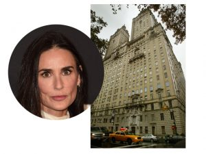 Demi Moore dá desconto de R$ 90 milhões para vender penthouse em NY
