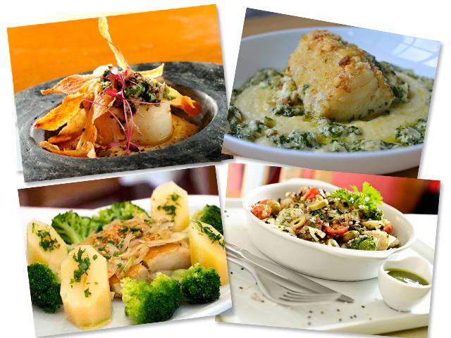 Em sentido horário, receitas dos restaurantes Pesce, Rodeio e Micaela