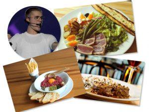 Bieber pede delivery do Spot e a gente conta sobre o jantar dos deuses