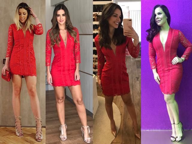 Fabiana Justus, Vera Viel, Mariana Rios e Fernanda Souza