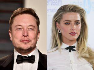 Namoro de Elon Musk e Amber Heard está fazendo bem aos negócios dele