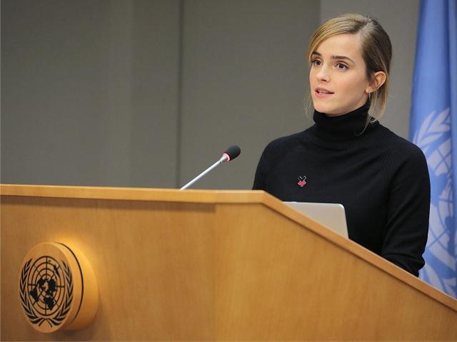 A atriz durante um evento da ONU || Créditos: Getty Images