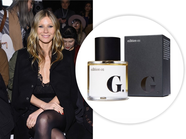 Gwyneth Paltrow e seu novo perfume || Créditos: Getty Images/Divulgação
