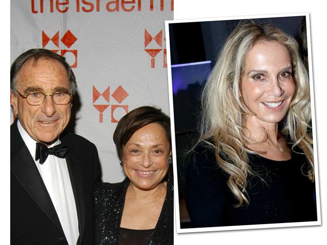 Harry com Linda, e Patricia, a amante francesa dele