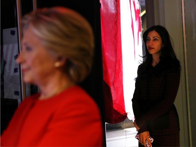 Hillary Clinton e Huma Abedin