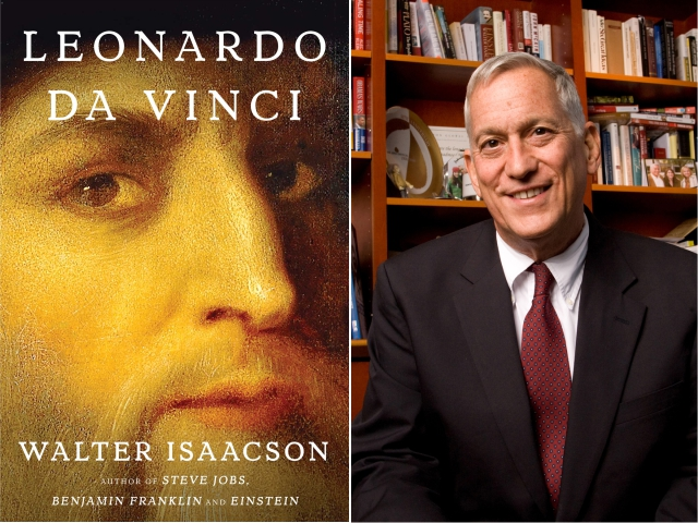 Walter Isaacson e seu novo livro || Créditos: Divulgação/Simon & Schuster/Patrice Gilbert