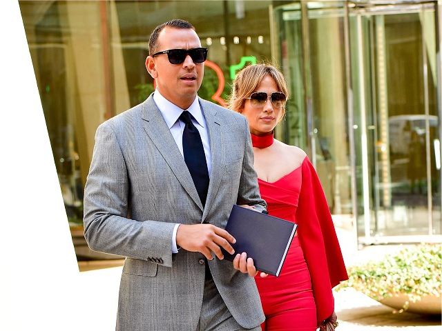 Alex Rodriguez e Jennifer Lopez || Créditos: Getty Images