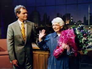 David Letterman perde a mãe um dia antes de completar 70 anos