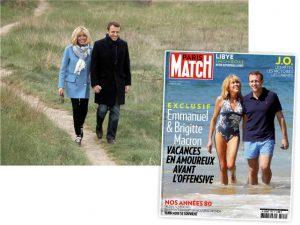 """""""Rainha dos paparazzi"""" é uma das grandes aliadas de Emmanuel Macron"""