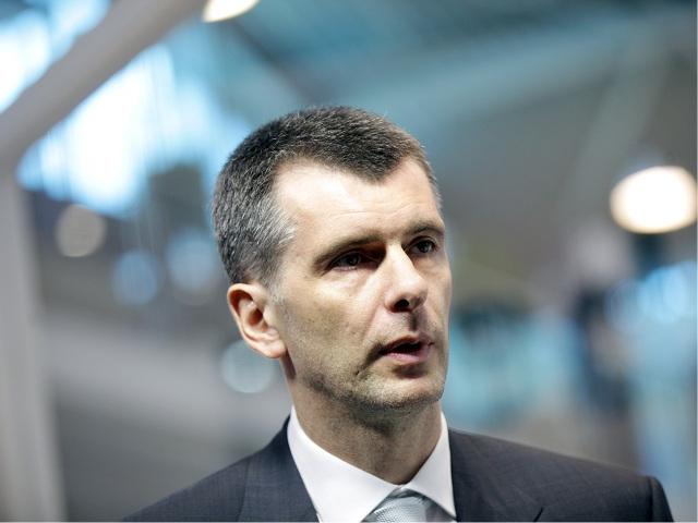 Mikhail Prokhorov || Créditos: Getty Images