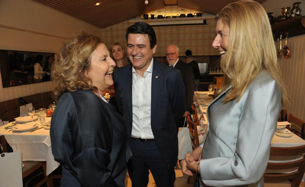 Joyce Pascowitch, Luiz Sérgio Vieira e Marly Parra