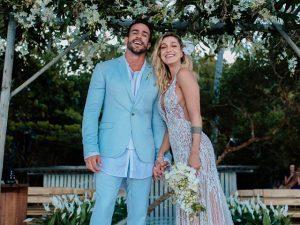 Os flashs em torno do casamento de Gabriela Pugliesi em Trancoso. Vem!