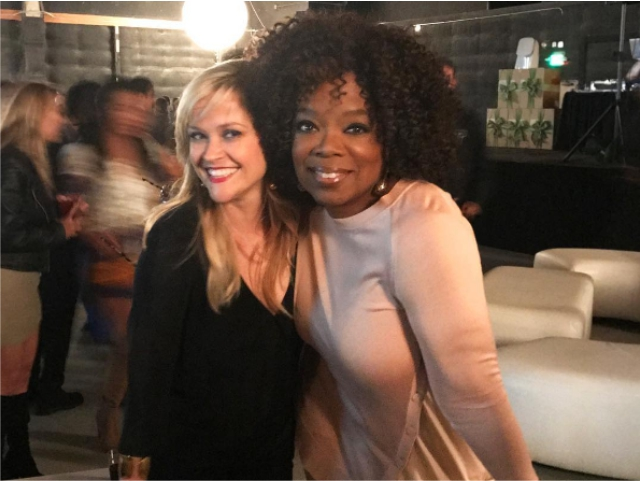 Reese Witherspoon e Oprah Winfrey