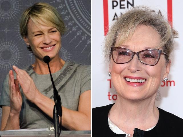Robin Wright e Meryl Streep || Créditos: Getty Images