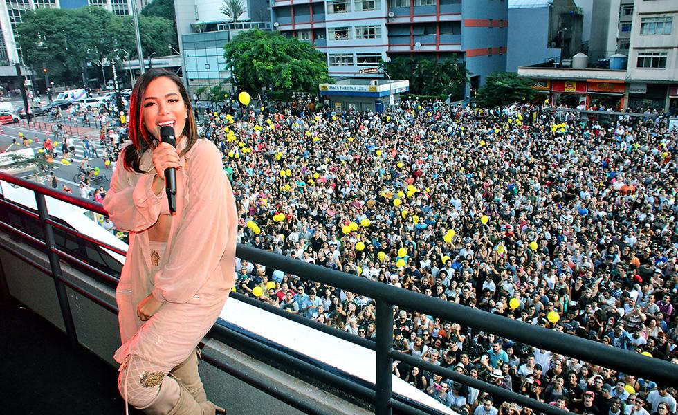 O show da Anitta    Créditos: Bruna Guerra