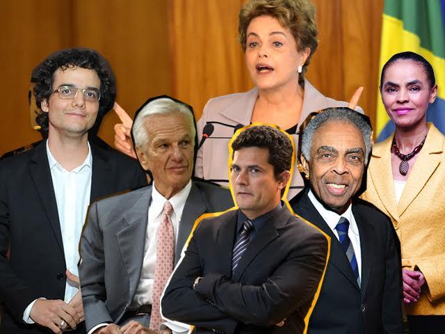 Wagner Moura, Jorge Paulo Lemann, Dilma Rousseff, Sergio Moro, Marina Silva e Gilberto Gil: alguns dos palestrantes do Brazil Conference em Harvard || Créditos: Divulgação