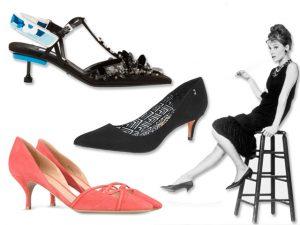 Kitten heels estão de volta! Aqui, as versões mais desejadas e como usá-las!