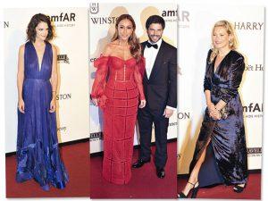 Sétima edição da amfAR São Paulo teve Katie Holmes, Kate Moss e Anitta no palco