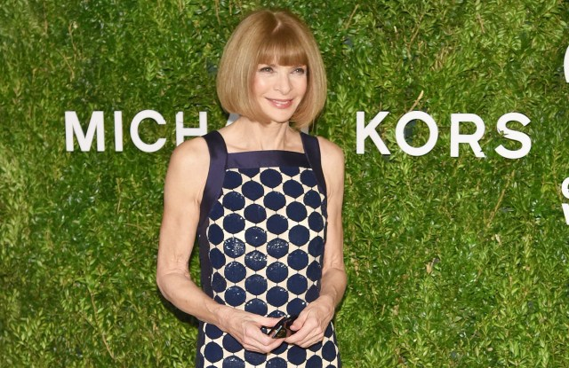 Anna Wintour: avó da vez! || Créditos: Getty Images