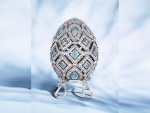 Lá em Casa: mergulho deluxe na tradição russa com ovos Fabergé