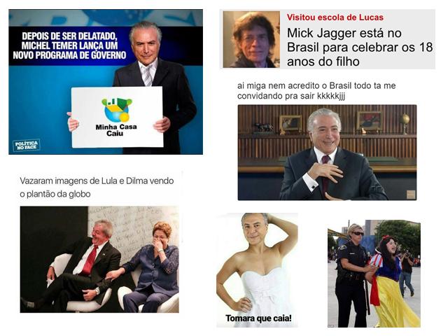 A semana foi cheia de memes sobre a atual situação política no Brasil!   Créditos: Reprodução