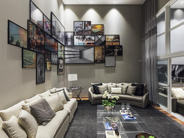 Um dos espaços da mostra D&D Show, que acontece dentro do empreendimento residencial DUO Morumbi || Créditos: Divulgação