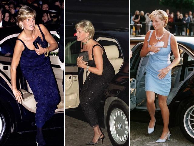 Diana e suas clutches || Créditos: Getty Images