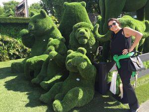 Arquiteta Fernanda Aguiar viaja à Inglaterra em busca de inspiração para novas festas