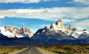 O Monte Fitz Roy na Patagônia Argentina