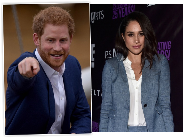 O príncipe Harry e a atriz Meghan Markle || Créditos: Getty Images